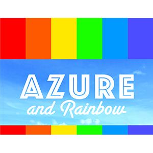 同志友善服務機構 服裝與飾物 Azure and Rainbow